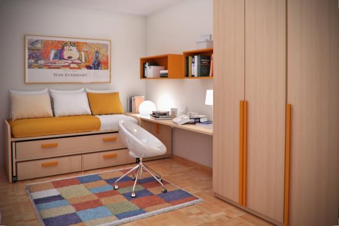Bedroom Furniture For Small Bedrooms: Postele Do Malého Bytu